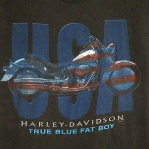 Harley-davidson medium short sleeve t